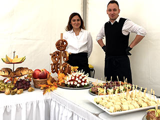 Catering für große Events