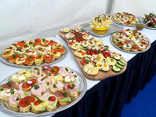 Spatenstich in Berlin feiern mit Catering