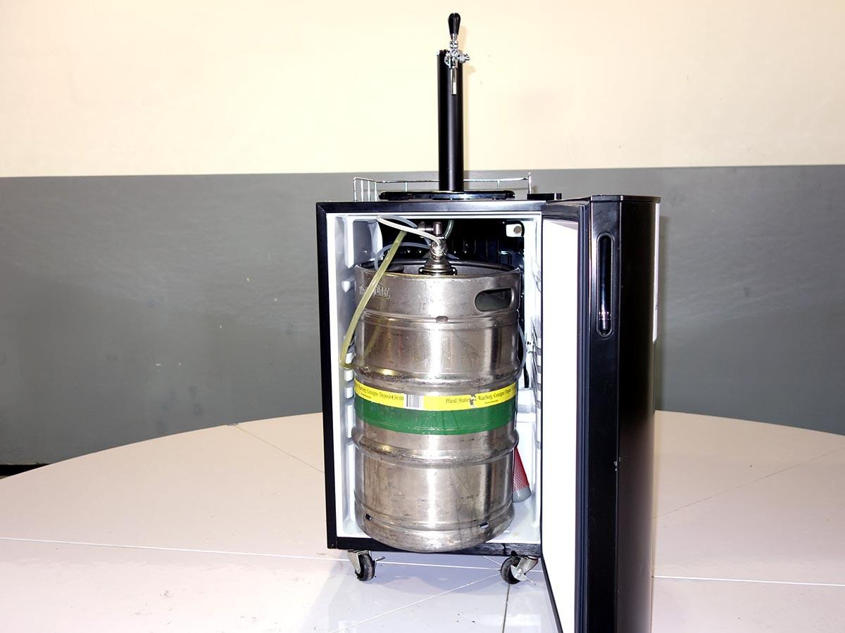 Amerikanischer Kühlschrank Mit Zapfanlage : Kühlschrank zapfanlage gebraucht bomann bz bierkühler mit