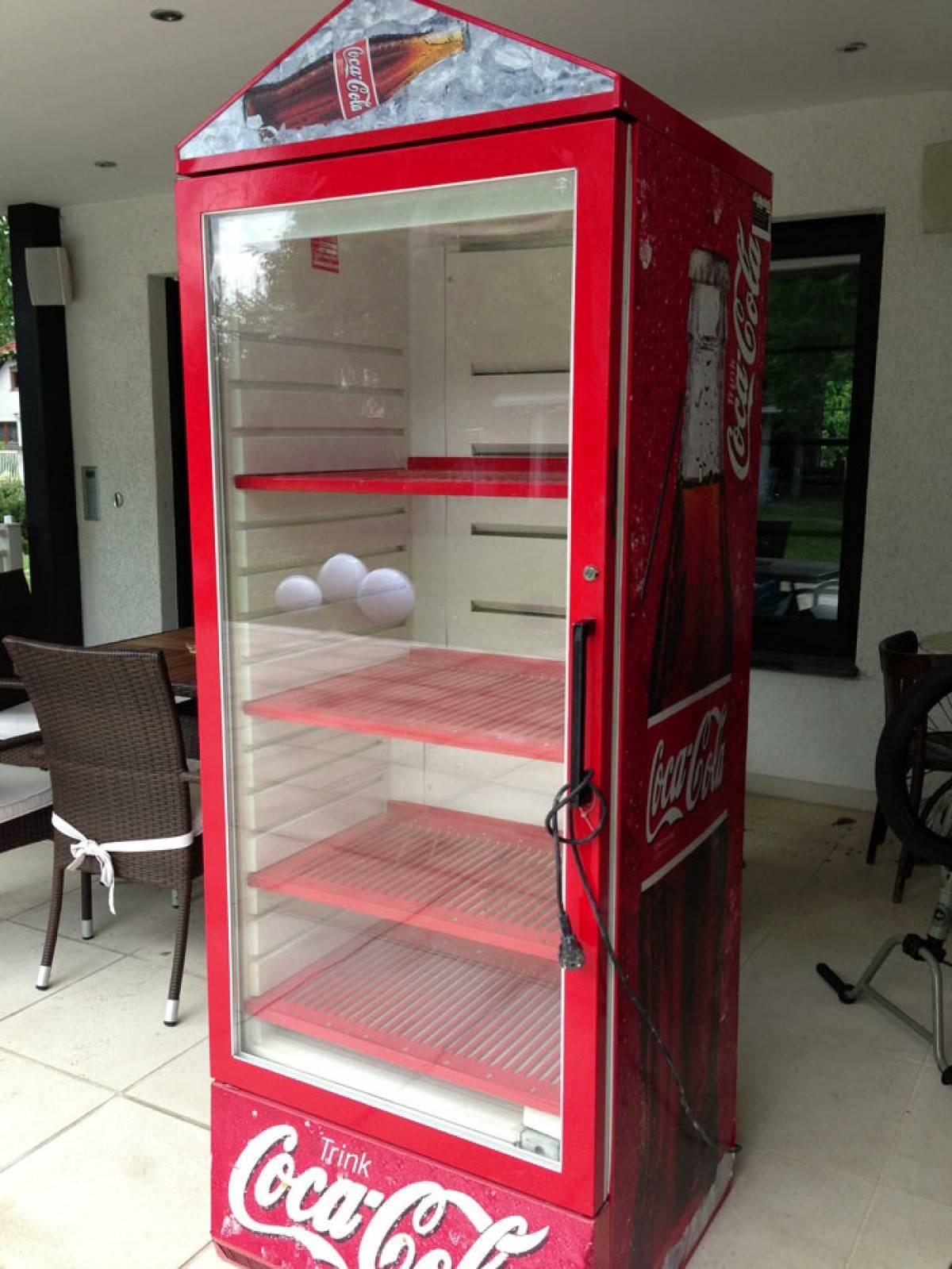 Nett Cola Kühlschrank Gebraucht Bilder - Die Kinderzimmer Design ...