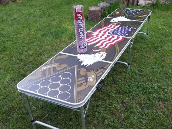 Beerpong Tisch für Events