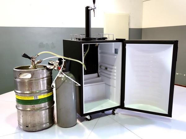 Zapfanlage Bier - Kühlschrank