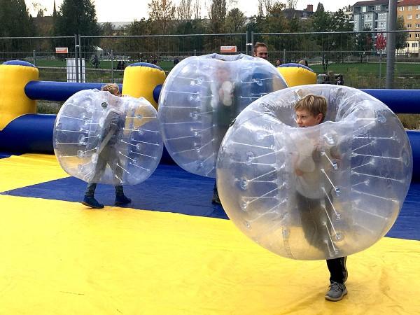 Bubble Fußball mieten