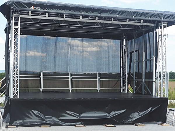 Bühnenanhänger mieten