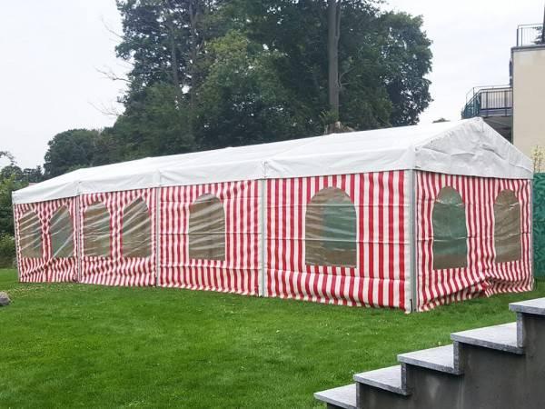 Zelt für Gartenparty 4m breit