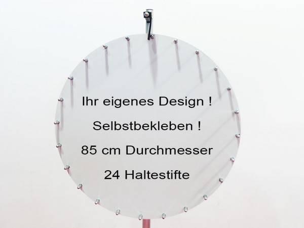 Glücksrad gestaltbar 24 Stifte mieten berlin