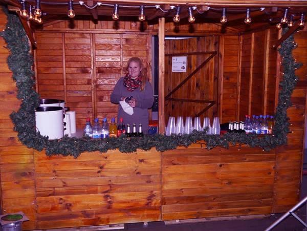 Weihnachts - Glühweinstand
