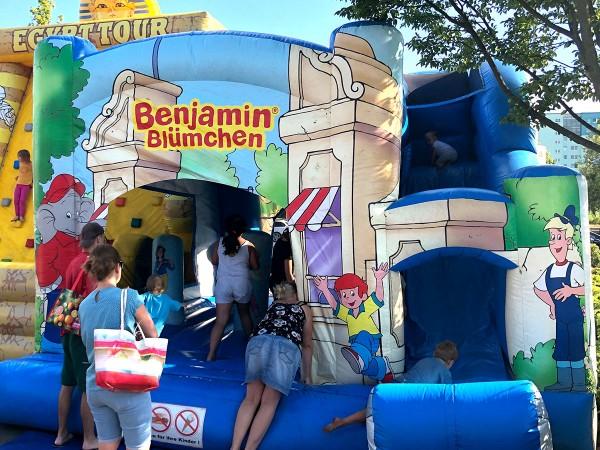 Hüpfburg Benjamin Blümchen Verleih berlin