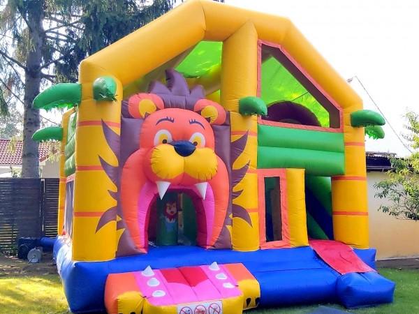 Hüpfburg Big Lion