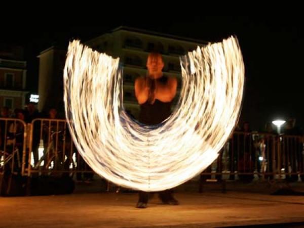 Stone & Fire - spektakuläre Feuershow