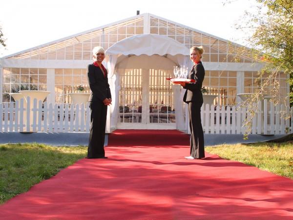 Roter Teppich 10m x 2m (L x B)