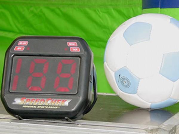 Fussball Radargerät