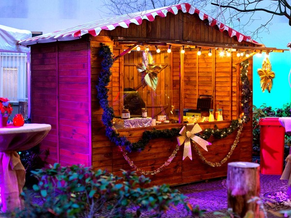 Weihnachtsmarkthütte mieten Berlin