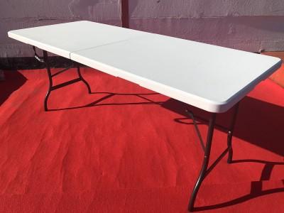 Bankett - Tisch 180cm x 75cm eckig