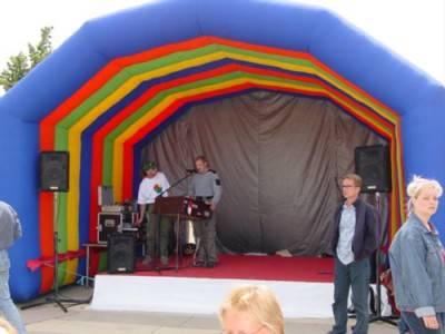 Bühne 4 x 3m