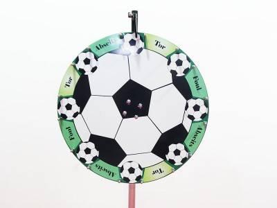 Glücksrad Fußball