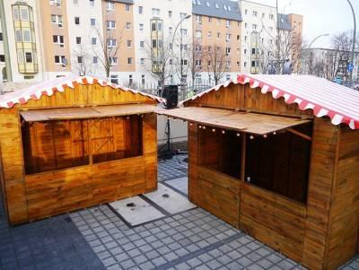 Holz - Markthütte
