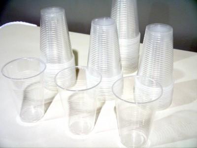 Plastik Becher 0,3L