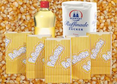 100 Popcorn Portionen