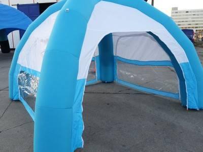 Event - Domezelt blau