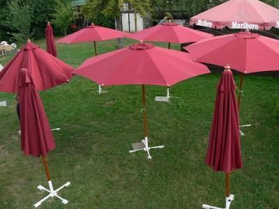 Sonnenschirm bourdeaux