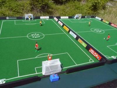Tipp-Kick Fußballspiel