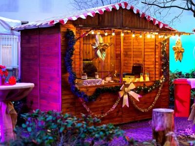 Weihnachtsmarkt - Hütte
