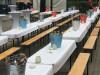 Tischdecke für Festzeltgarnitur weiß