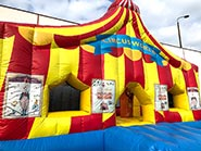 Hüpfburg Zirkuswelt mieten
