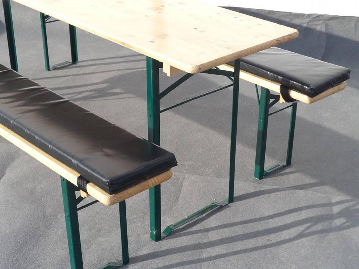 sitzauflage f r biertischgarnitur mieten 5 cm dick g nstiger verleih. Black Bedroom Furniture Sets. Home Design Ideas