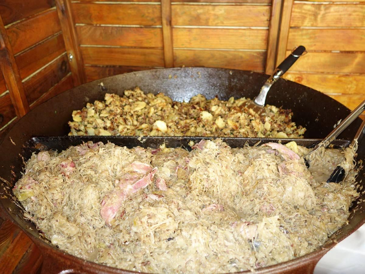 Kasslerpfanne mit Sauerkraut | Catering | Berlin