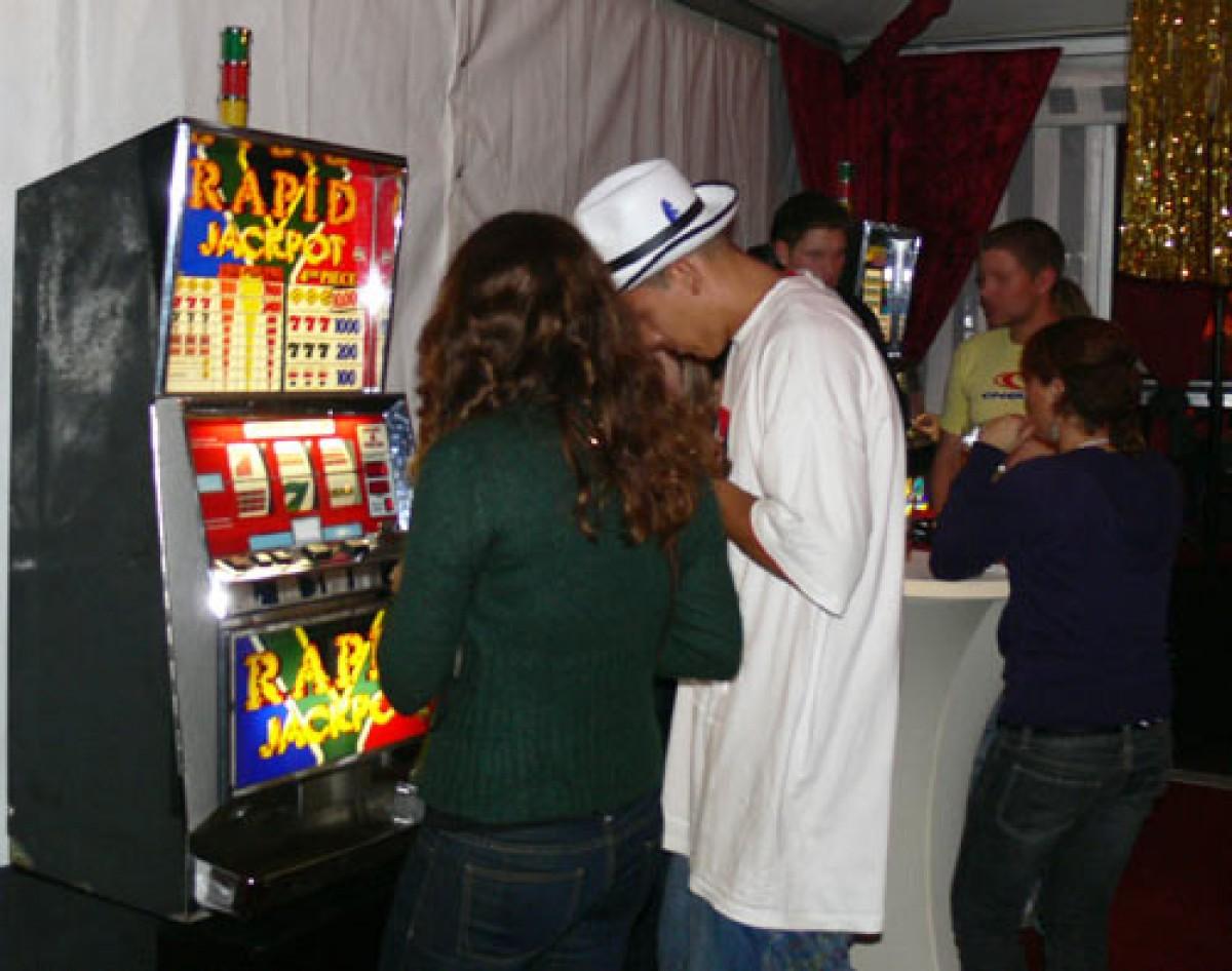 Slotmaschinen Verleih